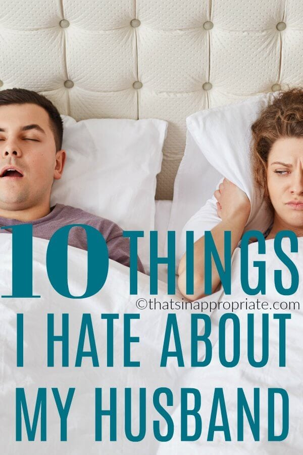 Marriage is hard. And this hilarious and brutally honest post about marriage is one we can all relate to. #marriage #momlife #parenting #thatsinappropriate