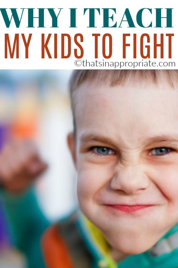 We think that good parenting means teaching our kids kindness and how to not be a bully. But, what if they are being bullied? This inspirational parenting post shows why one mom believes in teaching her kids to fight. #bully #bullying #antibullying #fight #kids #children #raisingkids #motherhooduncensored #momlife