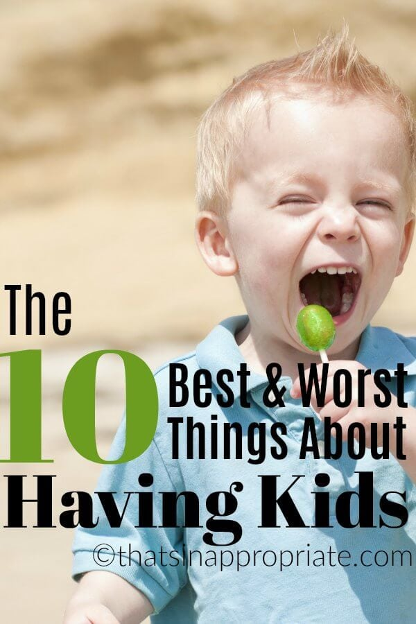 """This top ten list may serve as confirmation to you that you are not alone in having conflicting feelings towards parenthood. For those of you that don't have kids yet, it may serve as birth control. You know what though? The list will also serve as a reminder to those of you who do have kids of what an absolute life-altering blessing children can be. #motherhood #momlife #parenting #parenthood #kids #raisingkids"""""""