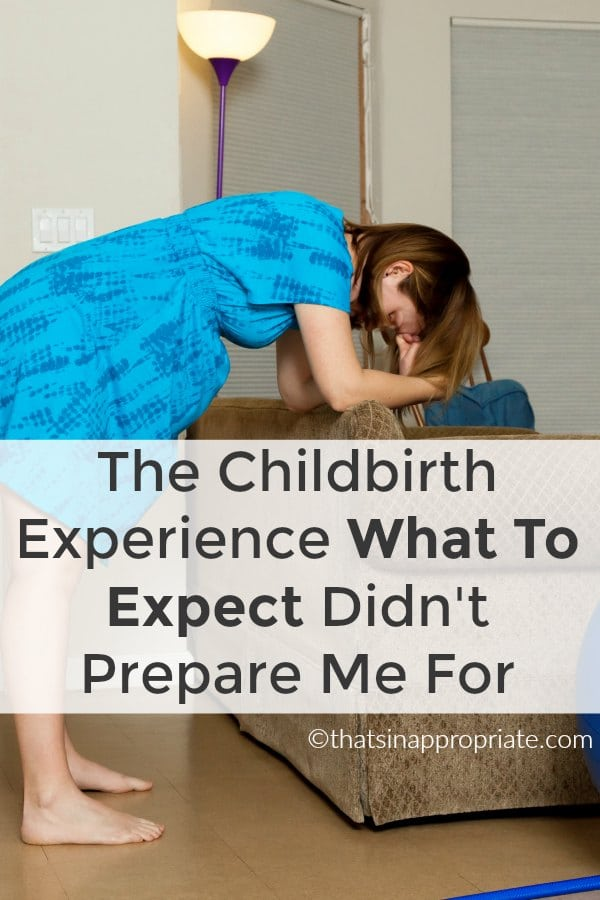 Childbirth and labour is an experience that is hard to prepare for. This hilarious blog post about what can really happen when you're giving birth to your child is an honest and candid look at what having a baby is really like. #motherhood #parenting #momlife #childbirth #laboranddelivery #childlabor #birth #birthstory
