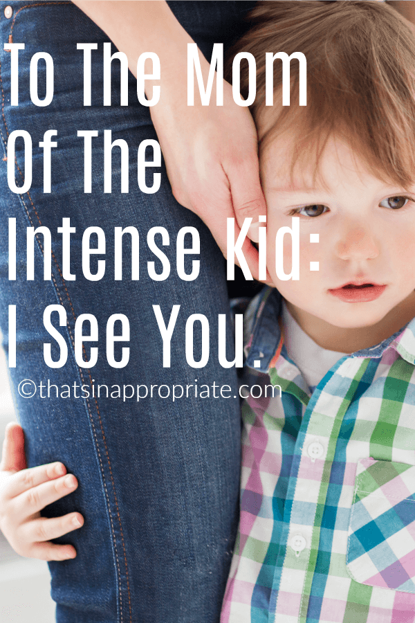 Having an intense kid can be exhausting. Moms that deal with tantrums, and intense responses to everything know what patience is really like. But they also know the joy of parenting a kid that is full of so many emotions. #momlife #parenting #parenthood #motherhooduncensored #wildchild #intensechild #kids #children