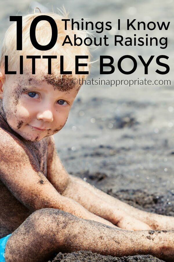 Raising little boys is a fun experience and there are just some things that are universal to having sons. Especially during the toddler years. Here are 10 Things I Know about raising Little boys. #boymom #momlife #parenting #motherhood #boysandgirls #raisingboys