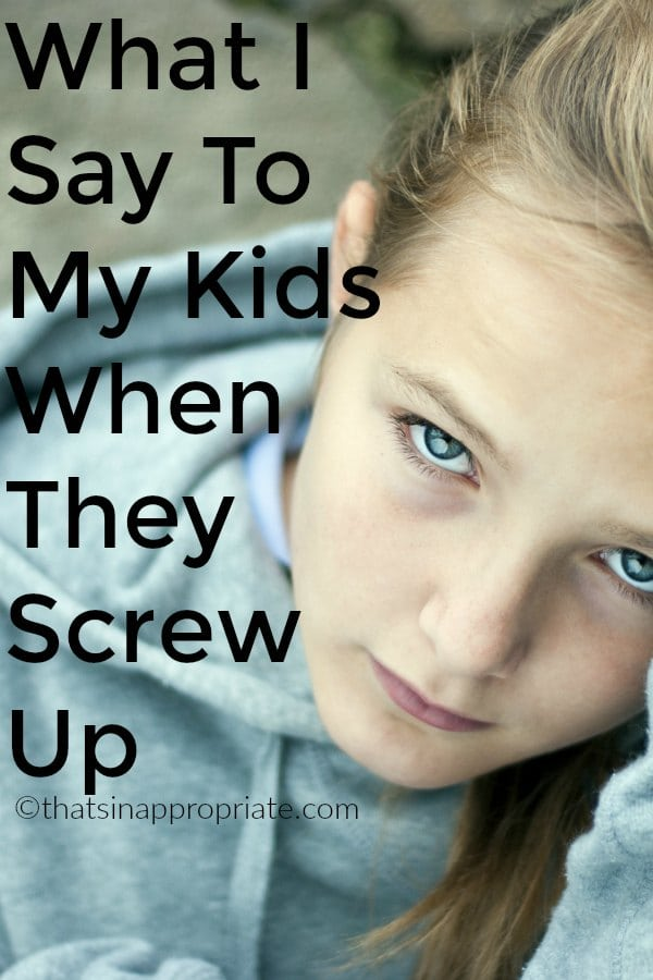 When your kids make mistakes, it's hard to know how to respond. This mom's letter to her kids is how we all hope we can respond when our kids screw up. #parenting #motherhood #momlife #positiveparenting #raisingkids