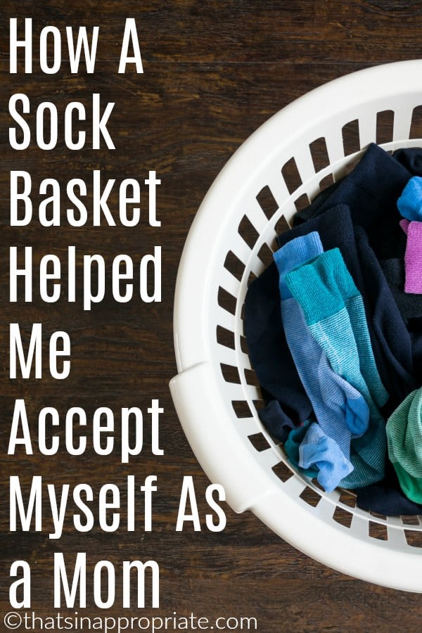 We are all imperfect mothers. But, this honest and inspirational blog post shows how sometimes it is hard for us to accept our individual uniqueness even in motherhood #momlife #motherhood #perfection #parenting #motherhooduncensored #socks
