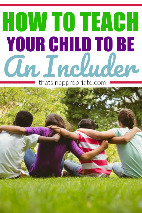 All parents want to teach their kids how to be good friends. But, we also need to be teaching them to include those outside their own circles. In a world of bullying, here's how to teach your child to be the one to include those on the outside looking in. #bullying #friendship #raisingkindkids #kindness #friends #parenting #motherhood #momlife