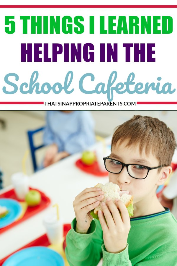 The school cafeteria is like a jungle. This funny blog post about what your kids are really doing during lunchtime will have you asking your kids what they do at lunch. #lunchtime #schoollunch #lunchideas #funny #humor #momlife #parenting