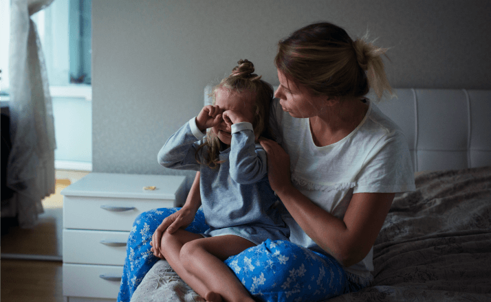 The challenges of motherhood often feel overwhelming. This honest and real look at parenting on a bad day will make you realize why it's still all worth it. #momlife #parenting #motherhood #momstruggles