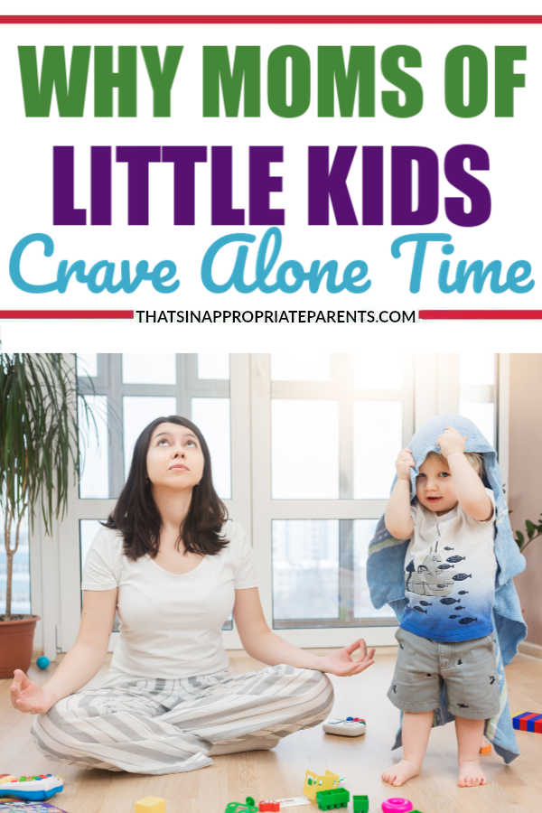 The baby and toddler years can be rough, and it's no wonder that moms crave alone time when they are surrounded. But, here's the funny truth about why. #momlife #filterfreeparents #motherhood #toddler #toddleryears #baby #newborns