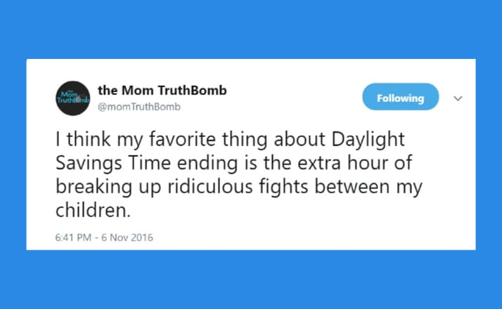 18 Hilarious Parenting Tweets About The Hell Of Daylight Saving Time