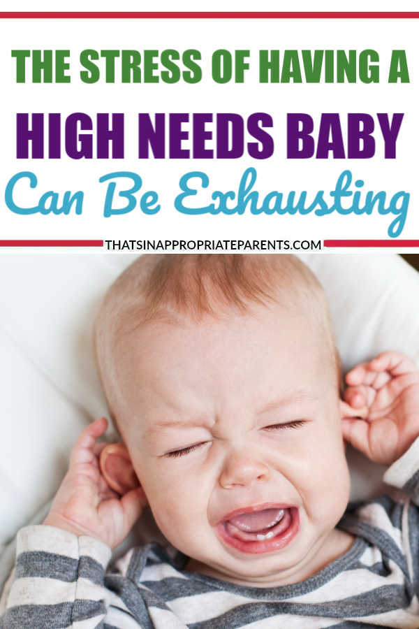 Having a high needs child can be exhausting for both the seasoned mother and a new mom. This post shares the reality of what it's like trying to parent a high needs child. #highneedsbaby #momlife #motherhood #baby