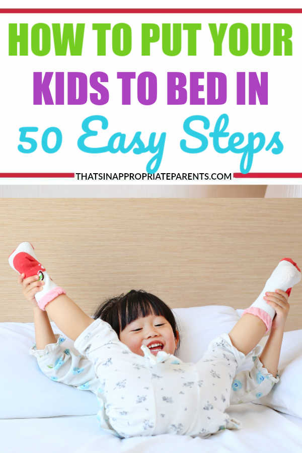 Every parent wants a great bedtime routine for their kids, but when reality sets in, it's sometimes hard to follow through with that routine - because, kids. #momlife #kids #bedtime #bedtimeroutine