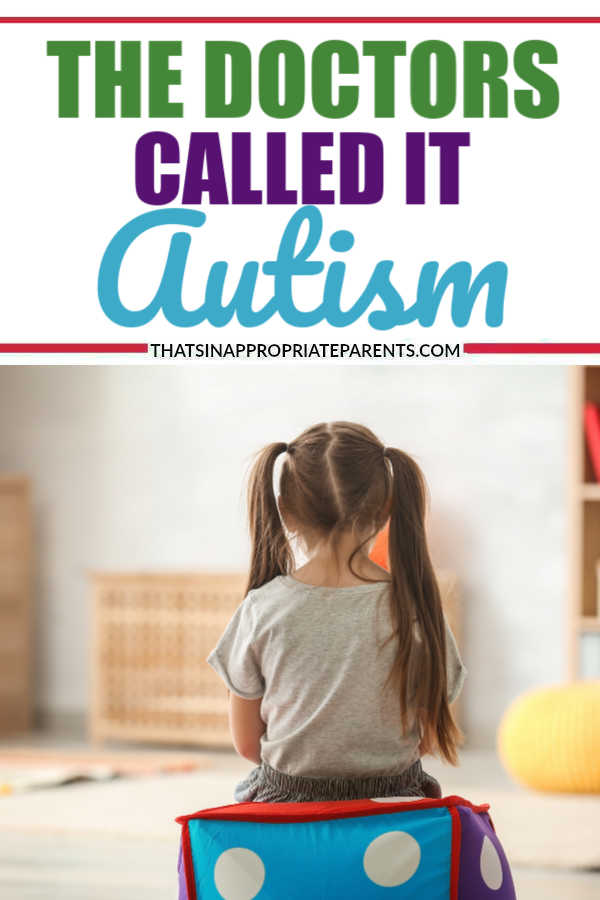 The doctors called it autism. A cry from the inside - one mother's story of learning to accept her child's diagnosis. #autism #autismawareness #motherhood #momlife #parenting #filterfreeparents