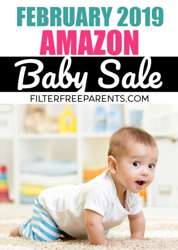 Amazon is having a HUGE sale during the month of February on all their baby gear. Don't miss out on this chance to save on baby supplies, diapers, strollers, stuff for your nursery, baby toys and so much more. #baby #babysale #momlife #filterfreeparents