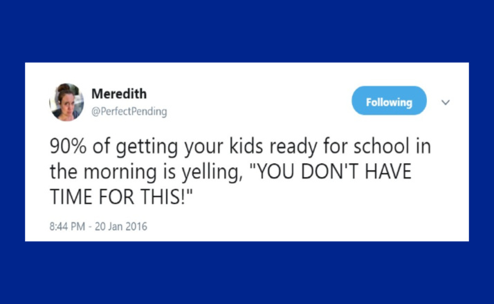 18 Funny Tweets About The Hell Of Getting Kids Ready For School In The Mornings