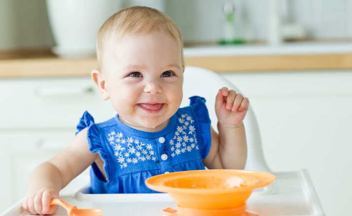 According To New Study, AAP Now Recommends Exposing Baby To Foods Earlier To Prevent Allergies