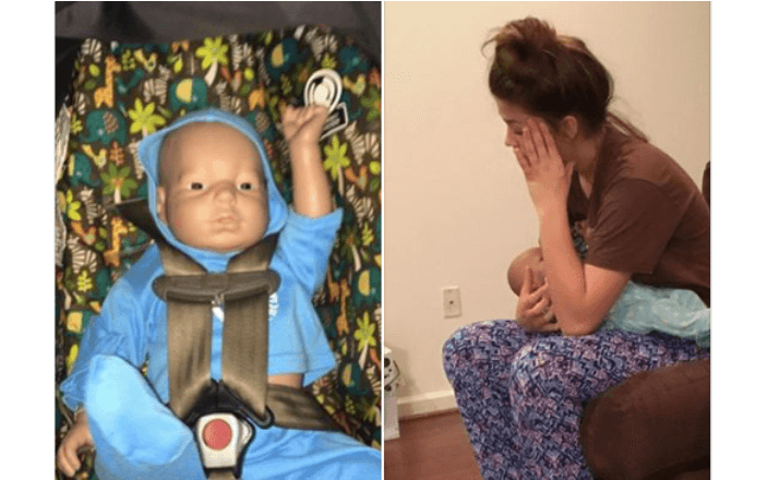 """Mom Responds With LOL """"Yeah, no."""" When Her Teen Asks For Help With Class Baby At 3 AM Feeding"""