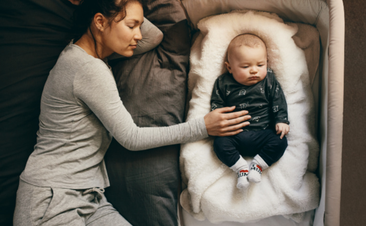 Sleep deprivation in parents is a big deal. A new study reveals that a parent's sleep is disrupted way past the baby years. Sleep deprivation lasts until the child is at least six years old. #sleep #baby #filterfreeparents
